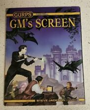 GURPS 4th Ed. GM's Screen Steve Jackson, Cover art by John Zeleznik + Guides!