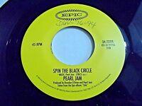 Pearl Jam Spin The Black Circle / Tremor Christ 45 1994 Epic Grunge Vinyl Record
