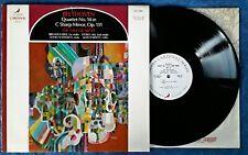 BEETHOVEN / QUARTET NO. 14 IN C SHARP MINOR - YALE QUARTET -VANGUARD CARDINAL LP