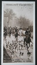 Fox Hunting  Whaddon Chase Foxhounds  Vintage Mid 1920's Photo Card  VGC / EXC