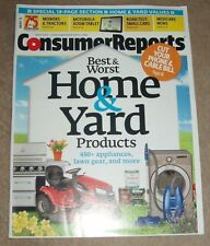 Consumer Reports Magazine - Best & Worst Home & Yard Products - May 2011