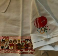 Tokyo Olympic 2020 Polo shirt L Japanese Anime ONE PIECE SAILOR MOON NARUTO