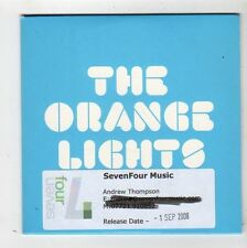 (FZ400) The Orange Lights, A Few Good Days - 2008 DJ CD