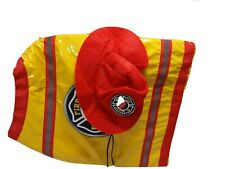 Hyde and Eek Boutique Pet Firefighter Set Size MediumVest Hat up to 50 lbs