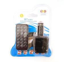 Trasmettitore Fm 5in1 Auto Car Mp3 Player Lettore Musicale Bluetooth hsb