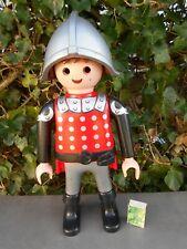 PLAYMOBIL figurine géante de 65 cm 2015 représentant un chevalier, à compléter.
