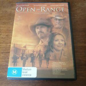 Open Range DVD R4 Like New! FREE POST Kevin Costner