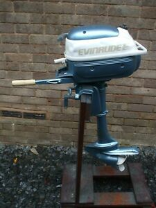 Evinrude 3 hp outboard engine