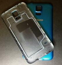 For Samsung Galaxy S5 Battery Back Rear Cover Case Door GTI9600 I9600 G900F Blue