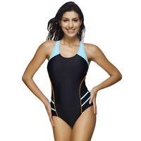 Hot One-Piece Professional Gym Triangular Swimsuit Women Training Sport Swimwear
