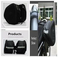 Durable Oxford Cloth Waterproof Left Right Side Motorcycle Riding Saddle Bags