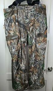 Scentlok Realtree EdgeCamo Fleece Lined Carbon Alloy Mid Season Hunting Pant 2XL