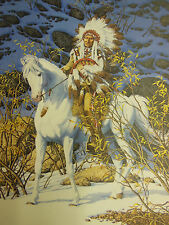' Eagle Heart ' by Bev Doolittle Signed & Numbered