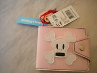 portafoglio julius & friends by paul frank skurvy snap wallet rosa portamonete