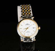 ONISS MEN'S WATCH JAPAN MOV'T WATER RESISTANT 23K GOLD PLATING STAINLESS STEEL