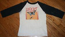 Vintage 70s Heart Dog & Butterfly Tour Raglan T-Shirt tee original from concert