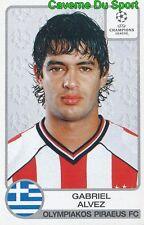 226 GABRIEL ALVEZ URUGUAY OLYMPIAKOS STICKER PANINI CHAMPIONS LEAGUE 2001-2002