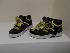 Heelys #7923 Black Yellow Sneakers Skate Shoes Sz 4Y Youth