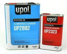 U-POL Universal Urethane Clear Coat Gallon Kit UP2882 W/UP2323 Std Hardner UPOL