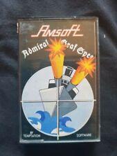 ADMIRAL GRAF SPEE Amstrad CPC 464 Cassette Game