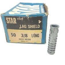 Star Lag Shield 3/8� (Box/50)