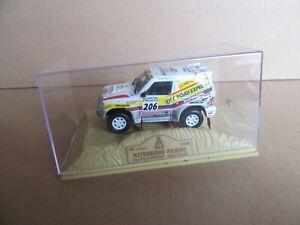 131I NOREV Mitsubishi Pajero #206 Rally Paris Dakar 1998 1:43