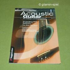 Der neue Weg zur Gitarre Acoustic Guitar  Gitarrenschule 1A TOP - OHNE Audio CD!