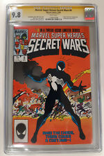 Marvel Super Heroes Secret Wars 8   CGC 9.8 SS Stan Lee  Origin Symbiote - Venom