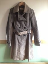 Ladies Karen Millen Brown Ombre Trenchcoat Size 10