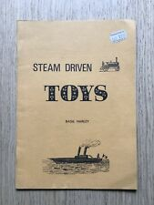 1975 STEAM DRIVEN TOYS BY BASIL HARLEY BOATS TRACTION ENGINES