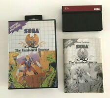 Sega Master System Ys The Vanished Omens RPG mit OVP und Anleitung 100% original