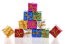 12Pcs Christmas Tree Ornaments Small Gift Box Xmas Hanging Party Home Decoration