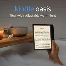 Kindle Oasis 8 GB, Wi-Fi Graphite - New Sealed