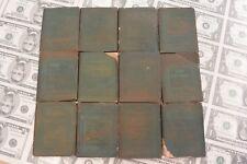 Little Leather Library lot of 12 Mini Antique Books, Title list in Description