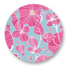 "Pin Button Badge Ø25mm 1"" Pattern Colore Plante Fleur Flower Bouquet flore"