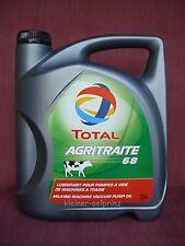 TOTAL agritraite 68 Mungitrice OLIO / Pompe per vuoto - olio ISO VG 68 5 litri