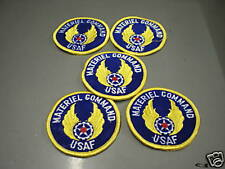 US AIR FORCE MATERIEL COMMAND PATCHES - LOT OF 5 - NEW