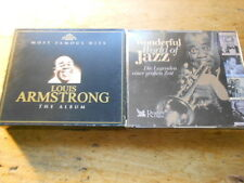 Louis Armstrong [2 CD Alben] Famous Hits + Wonderful World of Jazz