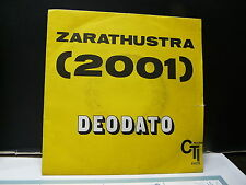 DEODATO Zarathustra CTI RECORDS 41079