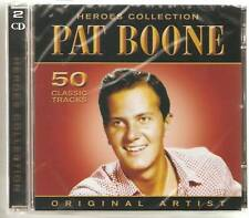 PAT BOONE HEROES COLLECTION 2 CD SET