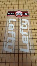 Sticker Decal Set for 2010 Cannondale RZ140 2 Carbon Lefty Max PBR