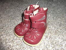 LIVIE & LUCA 7 PATENT RED BOOTS
