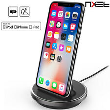 Apple MFi Lighting Charger Charging Stand Dock Cradle Sync Station For iPhone