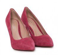 TWIN-SET SIMONA BARBIERI Decollete Pumps Schuhe Shoes Leder rot red NEU BOX!