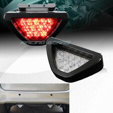F1 Sport Style Reverse 12-LED Clear Lens Third Brake Light Stop Lamp Universal 1