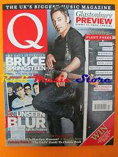 Q Magazine 276/2009 Bruce Springsteen Marilyn Manson Doves Fleet Foxes Blur Nocd
