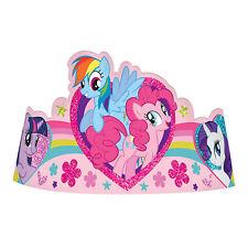 8 My Little Pony Friendship Sparkle Birthday Paper Party Tiara Hats