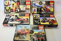 Lego Vintage Technic 8841 8842 8843 8844 8845 with Boxes and Instructions