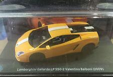 """DIE CAST """" LAMBORGHINI GALLARDO LP 550-2 VALENTINE BALBONI - 2009 """" 1/43"""