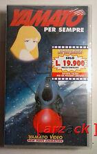 Yamato Video YAMATO PER SEMPRE VHS NUOVO SIGILATO celophanato